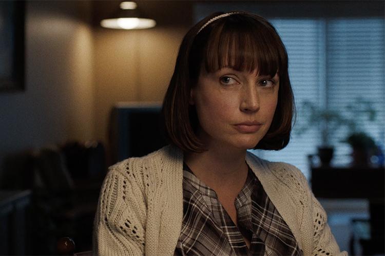 Julie Ann Emery as Ida Thurman in the FX network series FARGO (2014).
